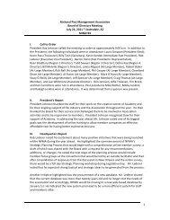 July 24, 2011 - National Pest Management Association