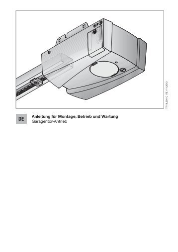 Garagentor-Antrieb LIFTRONIC 500 - EcoStar