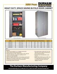Durham MFG 030-95 Cabinet Parts Storage