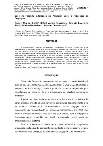 texto completo - Projeto Aves Marinhas