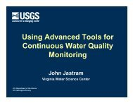 Using Advanced Tools for Continuous Water Quality Monitoring