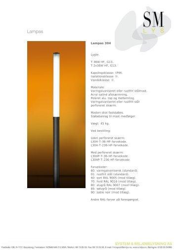Lampas 304 - SM Lys