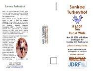 Suntree Turkeytrot