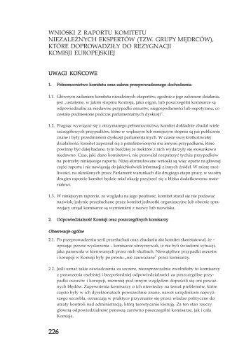 tzw. grupy mędrców - Urząd Komitetu Integracji Europejskiej