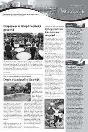 Gemeentepagina week 36 - Gemeente Waalwijk