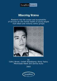 Minority voices: Research into the access and acceptability of ... - MMC