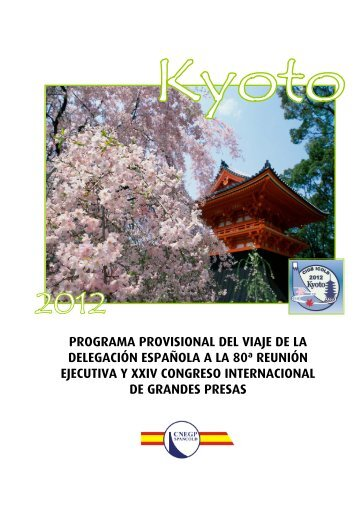programa provisional del viaje de la delegación ... - spancold