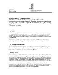 ADMINISTRATIVE PANEL DECISION Mubadala Trade Marks ...