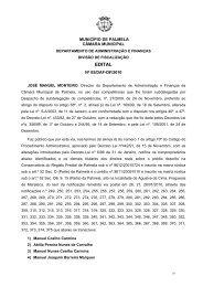 Edital 05/DAF-DF/2010, de 12/02, da Câmara Municipal de Palmela ...