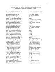 F. Mawangdui Hexagram Glossary (Alphabetical)