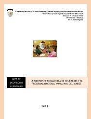 Wawa Wasi - La Educación Básica Regular - EBR - Ministerio de ...