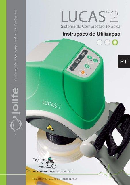 Instruções de Utilização - Lucas CPR