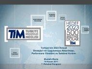 7. Rekabet Kongresi Sunumları - Mustafa Mente - REF