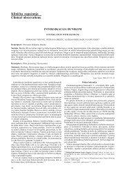Klini~ka zapa`anja Clinical observations