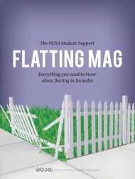Everything you need to know about flatting in Dunedin The OUSA ...