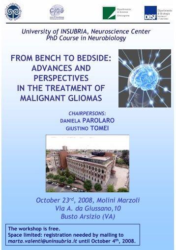 advances & perspectives in the treatment of malignant gliomas