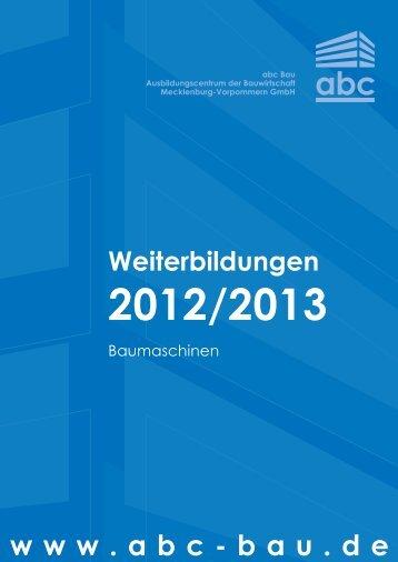 Weiterbildung 2013 - ABC-Bau