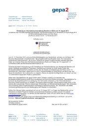 Einladung zur Informationsveranstaltung Brasilien in Berlin ... - gepa2