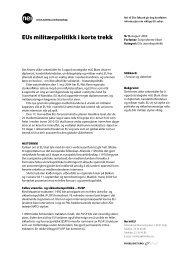 Faktaark 9-2004 EUs militærpolitikk i korte trekk - Nei til EU