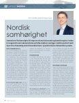Inspirert av mønstret mat - Forsiden - Foreningen Norden - Page 4