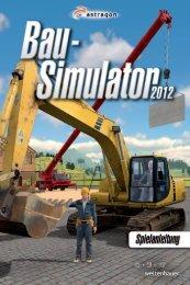 Download manual - Bau-Simulator 2012