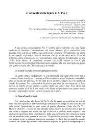 L'attualità della figura di S. Pio V - Diocesi di Alessandria