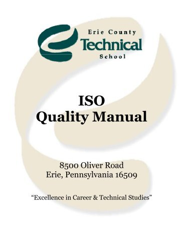 Quality Management Manual - Ects.org