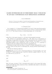 Closed hypersurfaces of prescribed mean curvature