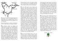 Wanderwege rund um den Longinusturm - baumberge-verein