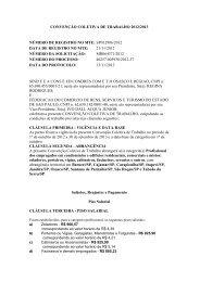 CONVENÇÃO COLETIVA DE TRABALHO 2012/2013 ... - Fecomercio