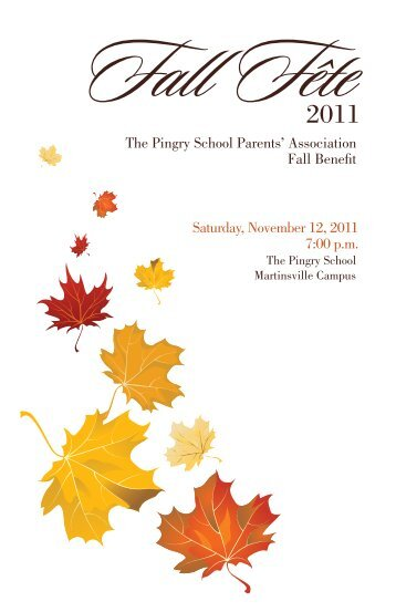 Pingry catalog_final.indd - Pingry School