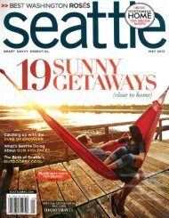 Seattle Magazine, May 2013 - Sleeping Lady