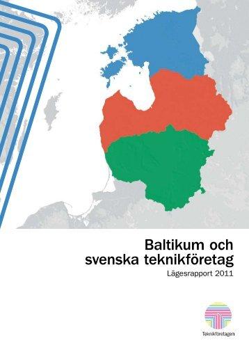 Baltikum och svenska teknikföretag - Teknikföretagen