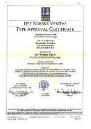 DNV Certificate - Global Supply Line