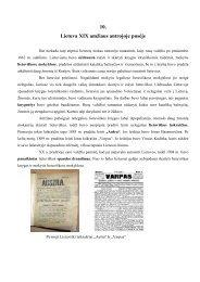 10. Lietuva XIX amžiaus antrojoje pusėje - Vilniaus lietuvių namai