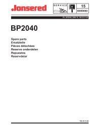 IPL, BP2040, 2000-10, Brush Cutter - Jonsered