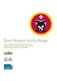 Book Readers Activity Badge - Scottish Book Trust