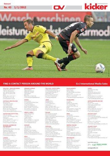 Nr. 43 / 1. 1. 2012 No. 43 1/1/2012 - Olympia-Verlag
