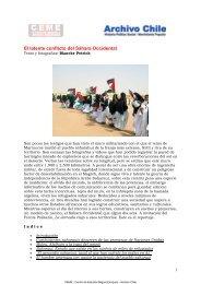 2005 Africa. El latente conflicto del Sáhara Occidental - Archivo Chile