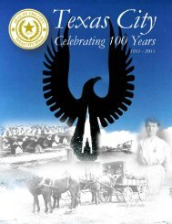100 years in Texas City.pub - Texas City-La Marque Chamber of ...
