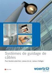 Broschure Systèmes de guidage de câbles