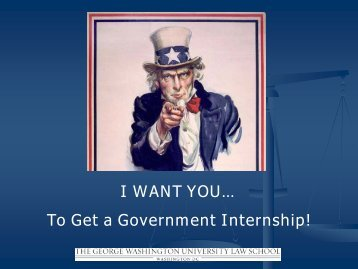 How to Find (and get!) a Government Internship