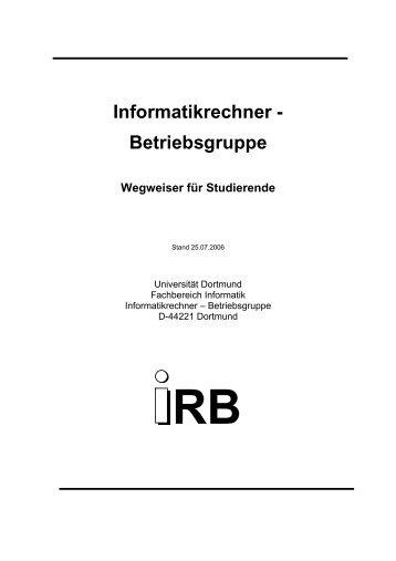 IRB-Wegweiser
