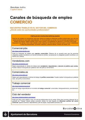 Recursos para la búsqueda de trabajo en el ... - Barcelona Treball