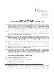 SKLEPI 26. REDNE SEJE NADZORNEGA SVETA RTV SLOVENIJA ...