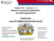 Alessandro Bellinzoni - Direzione Generale Pianificazione e Controllo