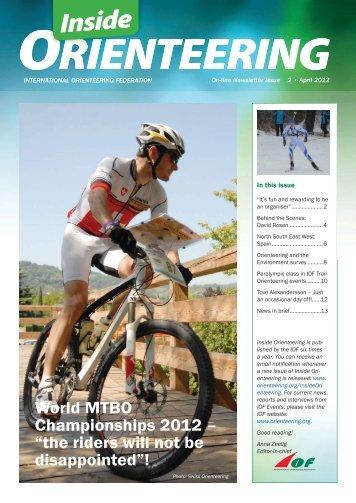 Pdf version of Inside Orienteering 2-2012 - International ...