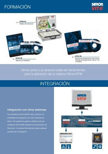 Catálogo técnico de VIT@ domótica (3ª Parte) - Simon