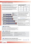 General Purpose Three-Phase Induction Motors ... - Cantoni Group - Page 4