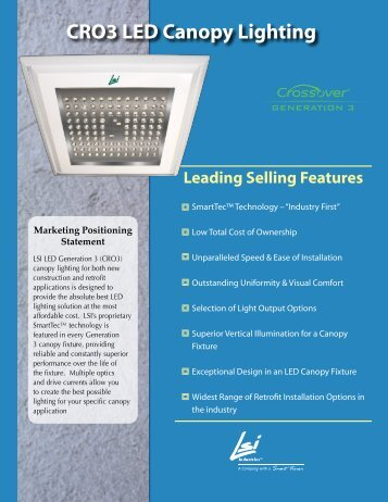 Leading Selling Features - LSI Industries Inc.